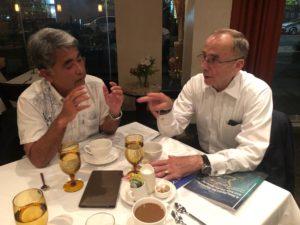 元国防次官補 ウォレス・グレグソン氏と夕食@ワシントン
